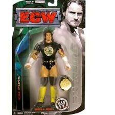 CM Punk ECW Series 4 Wrestling Action Figure with Championship Belt NIP WWE NIB