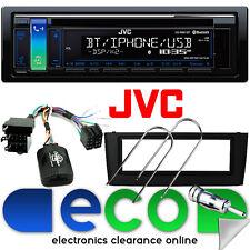 Fiat Grande Punto 05-14 JVC CD MP3 USB Bluetooth Car Stereo & Steering Wheel Kit