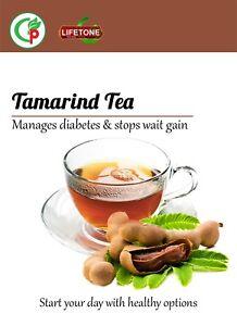Tamarind tea, Source of HCA, Powerful weight loss agent, 80 Teabags,160g