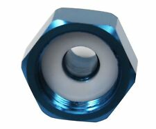 Dracarys -4AN Nitrous Bottle Nut Adapter w/ Washer  For Any Nitrous System(Blue)