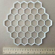 Wabe Form Riesig Plätzchen Keksausstecher Groß Hexagon Jumbo Biene Schablone