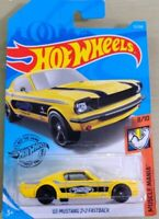 2019 Hot Wheels '65 Mustang 2+2 Fastback #72/250 [Yellow] Muscle Mania