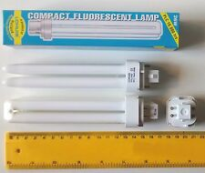 2 nueva compacta fluorescente de ahorro de energía 26w = 150w Lámpara G24q-3 Blanco 3500k 4 Pin