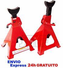 JUEGO CABALLETES / BORRIQUETAS 6 TONELADAS 2 PIEZAS -- 94856