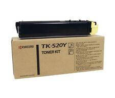 Kyocera Original TK-520Y YELLOW Toner For FSC5015N - 4,000 Pages