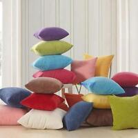 Color Corn kernels Corduroy Sofa Decor throw Pillow Case Cushion Cover Square UP