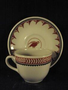 Santa Fe Cup saucer and Mimbreno replica railroad china