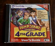 Jump*Start 24th Grade Knowledge Adventure Pc Cd-Rom 1999 Windows Mac Ages 8-10