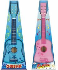 "TOYRIFIC WOODEN WOOD CHILDRENS KIDS GIRLS BOYS 23"" GUITAR MUSCIAL INSTRUMENT TOY"