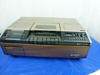 Vintage Sony SL-8080E Betamax Top Loading Video Cassette Recorder PAL Playback