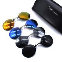 Trend 2019 Matrix Morpheus Clip On Nose Sunglasses Retro Round Shades Men UV400