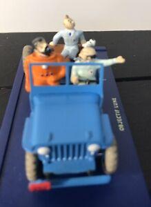 voiture tintin jeep Objectif Lune