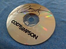 Cody Simpson Signed Autographed CD