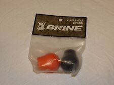 Brine 2 pack Lacrosse endos King logo Endo womens black orange Nos New old stock