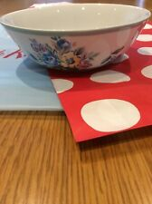 CATH KIDSTON HIGHGATE ROSE DISH CEREAL BOWL NEW