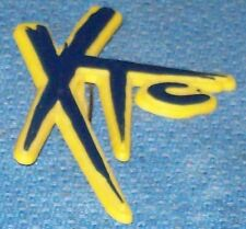 XTC ANDY PARTRIDGE BADGE PIN PUNK ROCK MUSIC BAND NEW WAVE, POP