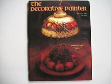 The Decorative Painter Magazine Issue # 1, 1990  Winter Fruit