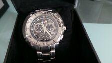 Original BMW M Chronograph Armbanduhr Uhr Zifferblatt Schwarz NEU/OVP