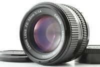 [EXC+++++] Canon New FD 50mm f/1.4 NFD MF Standard Lens from Japan