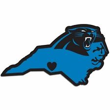 NFL Carolina Panthers Home State Auto Car Window Vinyl Decal Sticker