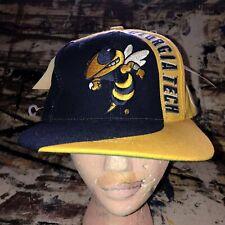 Georgia Tech Yellow Jackets NCAA Vintage Snapback Hat Cap American Needle