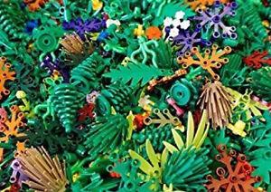 ☀️NEW! (X30) Lego Greenery Plant Parts Pieces trees shurbs bushes leaves random