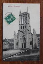 Postcard antique CPA ELLEY - The Cathedral