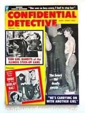 Confidential Detective Feb 1959 Juvenile Delinquent