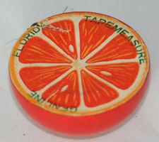 Genuine Florida Orange TAPE MEASURE,~~,figural,VINTAGE,FUN-smiley Face