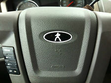ELVIS Ford Steering Wheel Oval Emblem Decal Overlay