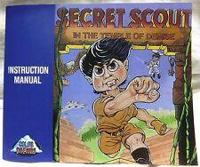 Secret Scout in the Temple of Demise Manual [Color Dreams] [Nintendo NES]