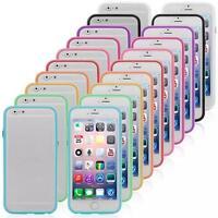 Custodia Bumper Cover Case TPU Per Apple iPhone 6 4.7 Flessibile Multicolor