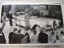 1958 FORD EDSEL DISPLAY      11 X 17  PHOTO  PICTURE