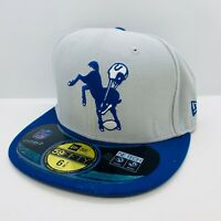 New Era 59Fifty Cap NFL Indianapolis Colts Adult On Field Size 6 7/8 NE Tech