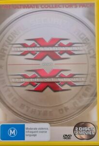 XXX Ultimate Collector's Pack. Region 4 PAL DVD