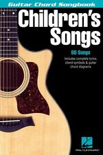 Children's Songs Sheet Music Guitar Chord SongBook NEW 000699539