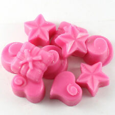 Strawberry + Rhubarb Scent 10 x 5g Handpoured Highly Scented Wax Melts / Tarts