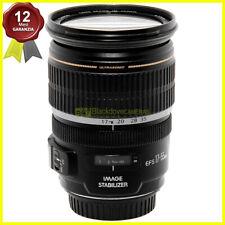 Obiettivo zoom Canon EF-S 17-55mm f2,8 IS USM per fotocamere digitali EOS AF