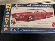 1/25 Scale 1963 Ford 500Xl Hardtop 3-In-1 Custom Amt Model Kit Open,Partly Built