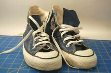 VTG Made in USA Converse All Star Chuck Taylor Blue High Tops Shoes Men's Size 6