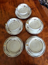 Heinrich & Co. H&C Selb Bavaria HC253 5 Coffee Cups and Saucers