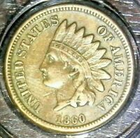1860 - Indian Head Penny **Historic Date**MINT - GREAT COIN.....#69