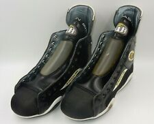EASTON AIR LEATHER CONSTRUCTION HOCKEY SKATE BOOTS CANADA MENS - SIZE: 8E