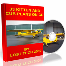 Build Your Own Ultralight Airplane J3 Kitten And Cub Plans On Cd Plus Extras