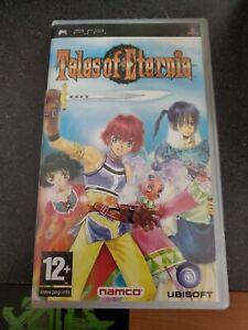 Tales of Eternia (Sony PSP Game, 2005) Complete CIB English Region Free