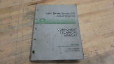 John Deere 220 Diesel Engine Shop Service Manual Fn185