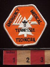 Vtg Tennessee EMT Patch Emergency Medical Technician C692