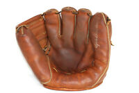 Lou Boudreau Wilson S.K.10 1940's-50's Leather Baseball Glove HOF Made In USA