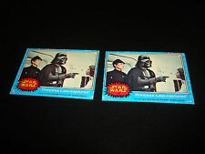 1977 Topps Star Wars #10 Princess Leai-captured! Darth Vader Carrie Fisher A14