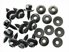 Toyota Body Bolts & Flange Nuts- Qty. 10 each- M6 x 20mm- 10mm Hex- #125